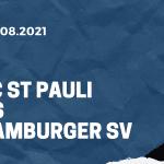 FC St. Pauli - Hamburger SV Tipp 13.08.2021