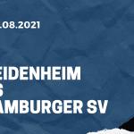 1. FC Heidenheim - Hamburger SV Tipp 28.08.2021