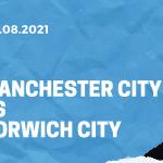 Manchester City - Norwich City Tipp 21.08.2021