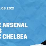 FC Arsenal - FC Chelsea Tipp 22.08.2021