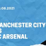 Manchester City - FC Arsenal Tipp 28.08.2021