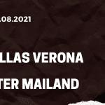Hellas Verona - Inter Mailand Tipp 27.08.2021