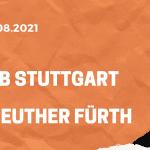 VfB Stuttgart – SpVgg Greuther Fürth Tipp 14.08.2021