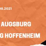 FC Augsburg – TSG 1899 Hoffenheim Tipp 14.08.2021