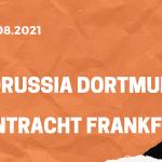 Borussia Dortmund – Eintracht Frankfurt Tipp 14.08.2021