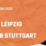 RB Leipzig – VfB Stuttgart Tipp 20.08.2021