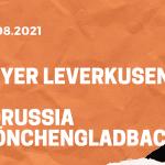 Bayer 04 Leverkusen – Borussia Mönchengladbach Tipp 21.08.2021