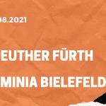 SpVgg Greuther Fürth – Arminia Bielefeld Tipp 21.08.2021