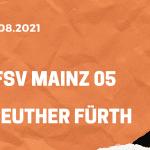 1.FSV Mainz 05 – SpVgg Greuther Fürth Tipp 28.08.2021