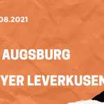 FC Augsburg – Bayer 04 Leverkusen Tipp 28.08.2021 Bundesliga