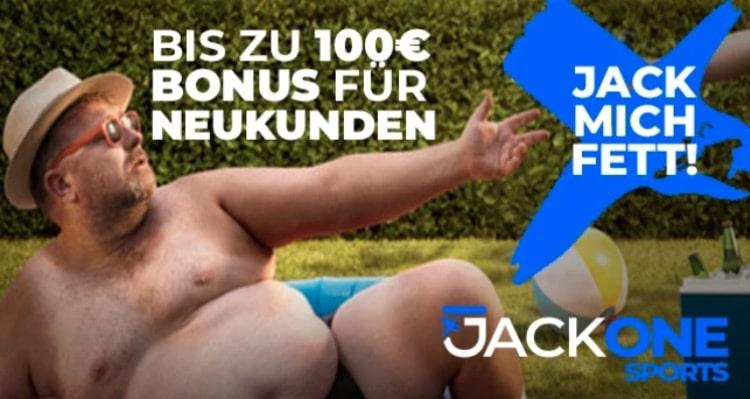 JackOne Sportwetten Bonus