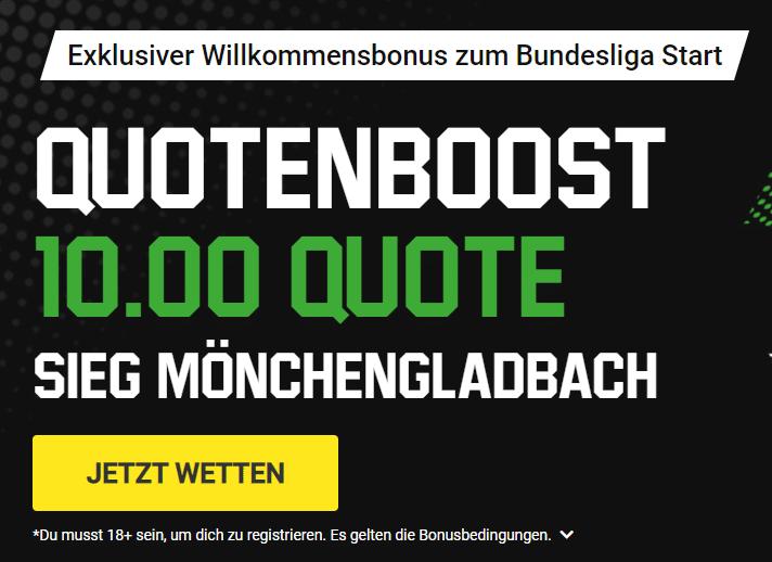 Exklusiver Unibet Bonus zum Bundesliga Start
