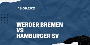 Werder Bremen - Hamburger SV Tipp 18.09.2021