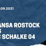Hansa Rostock - FC Schalke 04 Tipp 25.09.2021