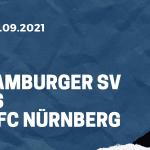 Hamburger SV - 1. FC Nürnberg Tipp 26.09.2021
