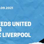 Leeds United - FC Liverpool Tipp 12.09.2021