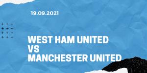 West Ham United - Manchester United Tipp 19.09.2021
