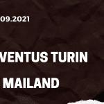 Juventus Turin - AC Mailand Tipp 19.09.2021