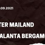 Inter Mailand - Atalanta Bergamo Tipp 25.09.2021