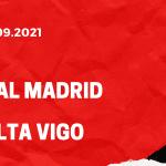 Real Madrid - Celta Vigo Tipp 12.09.2021