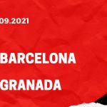 FC Barcelona - FC Granada Tipp 20.09.2021