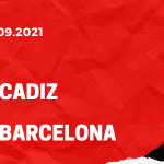 FC Cadiz - FC Barcelona Tipp 23.09.2021