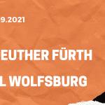 Greuther Fürth – VfL Wolfsburg Tipp 11.09.2021