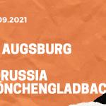 FC Augsburg - Borussia Mönchengladbach Tipp 18.09.2021