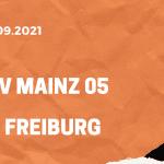 1. FSV Mainz 05 – SC Freiburg Tipp 18.09.2021