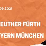 Greuther Fürth – FC Bayern München Tipp 24.09.2021