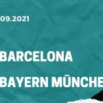 FC Barcelona - FC Bayern München Tipp 14.09.2021