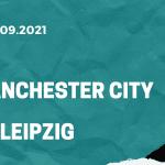 Manchester City - RB Leipzig Tipp 15.09.2021