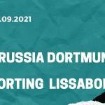 Borussia Dortmund - Sporting Lissabon Tipp 28.09.2021