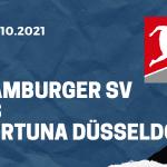 Hamburger SV - Fortuna Düsseldorf Tipp 16.10.2021