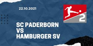 SC Paderborn - Hamburger SV Tipp 22.10.2021