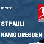 FC St. Pauli - Dynamo Dresden Tipp 03.10.2021