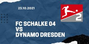 FC Schalke 04 - Dynamo Dresden Tipp 23.10.2021