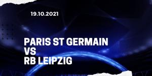 Paris St. Germain - RB Leipzig Tipp 19.10.2021