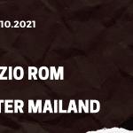 Lazio Rom - Inter Mailand Tipp 16.10.2021