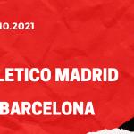 Atletico Madrid - FC Barcelona Tipp 02.10.2021