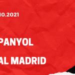 Espanyol Barcelona - Real Madrid Tipp 03.10.2021