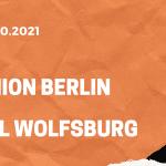 1. FC Union Berlin - VfL Wolfsburg Tipp 16.10.2021