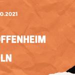 TSG Hoffenheim - 1. FC Köln Tipp 15.10.2021