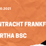 Eintracht Frankfurt - Hertha BSC Tipp 16.10.2021