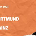 Borussia Dortmund - 1. FSV Mainz 05 Tipp 16.10.2021
