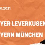 Bayer 04 Leverkusen - FC Bayern München Tipp 17.10.2021
