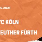 1. FC Köln – Greuther Fürth Tipp 01.10.2021