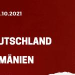 Deutschland - Rumänien Tipp 08.10.2021