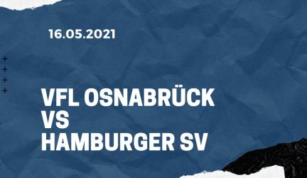 VfL Osnabrück – Hamburger SV Tipp 16.05.2021