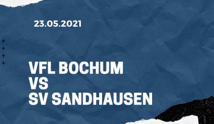 VfL Bochum – SV Sandhausen Tipp 23.05.2021